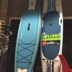 立槳SUP衝浪板